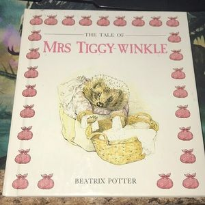 Vintage hardcover the tale of mrs tiggy-winkle